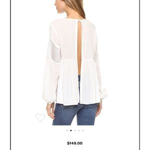 StyleStalker White Ripple Shirt, Medium. Brand New